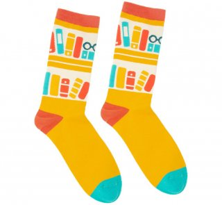 <img class='new_mark_img1' src='https://img.shop-pro.jp/img/new/icons14.gif' style='border:none;display:inline;margin:0px;padding:0px;width:auto;' />Bookshelf Socks