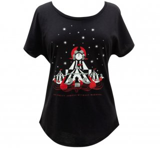 Erin Morgenstern / The Night Circus Relaxed Fit Tee (Black) (Womens)