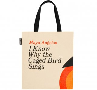 Maya Angelou / I Know Why the Caged Bird Sings Tote Bag