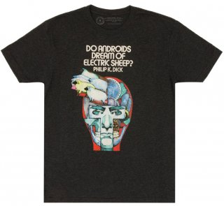 Philip K. Dick / Do Androids Dream of Electric Sheep? Tee (Vintage Black)