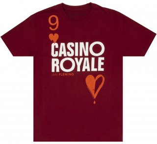 <img class='new_mark_img1' src='https://img.shop-pro.jp/img/new/icons14.gif' style='border:none;display:inline;margin:0px;padding:0px;width:auto;' />Ian Fleming / Casino Royale Tee (Cardinal Red)