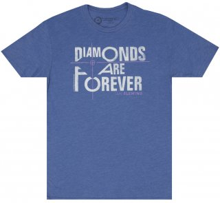 Ian Fleming / Diamonds Are Forever Tee (Vintage Royal)
