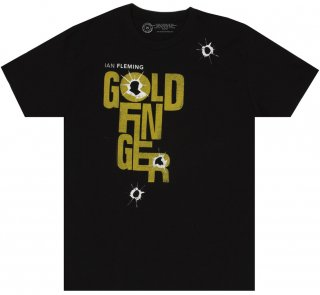 <img class='new_mark_img1' src='https://img.shop-pro.jp/img/new/icons14.gif' style='border:none;display:inline;margin:0px;padding:0px;width:auto;' />Ian Fleming / Goldfinger Tee (Black)