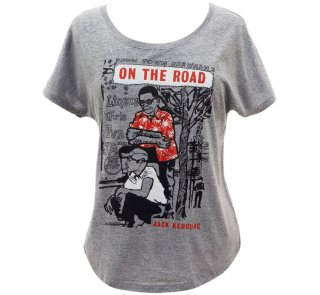 <img class='new_mark_img1' src='https://img.shop-pro.jp/img/new/icons14.gif' style='border:none;display:inline;margin:0px;padding:0px;width:auto;' />Jack Kerouac / On The Road Relaxed Fit Tee (Premium Heather) (Womens)