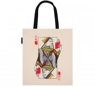 <img class='new_mark_img1' src='https://img.shop-pro.jp/img/new/icons14.gif' style='border:none;display:inline;margin:0px;padding:0px;width:auto;' />Queen of Books Tote Bag