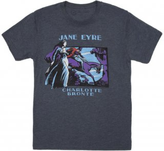 <img class='new_mark_img1' src='https://img.shop-pro.jp/img/new/icons14.gif' style='border:none;display:inline;margin:0px;padding:0px;width:auto;' />Charlotte Brontë / Jane Eyre Tee (Vintage Navy)