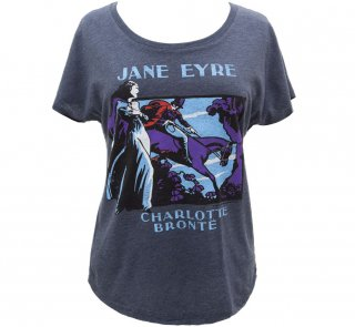 <img class='new_mark_img1' src='https://img.shop-pro.jp/img/new/icons14.gif' style='border:none;display:inline;margin:0px;padding:0px;width:auto;' />Charlotte Brontë / Jane Eyre Relaxed Fit Tee (Vintage Navy) (Womens)
