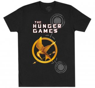 <img class='new_mark_img1' src='https://img.shop-pro.jp/img/new/icons14.gif' style='border:none;display:inline;margin:0px;padding:0px;width:auto;' />Suzanne Collins / The Hunger Games Tee (Black)