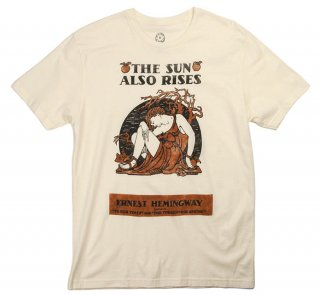 Ernest Hemingway / The Sun Also Rises Tee (Natural)<img class='new_mark_img2' src='https://img.shop-pro.jp/img/new/icons57.gif' style='border:none;display:inline;margin:0px;padding:0px;width:auto;' />