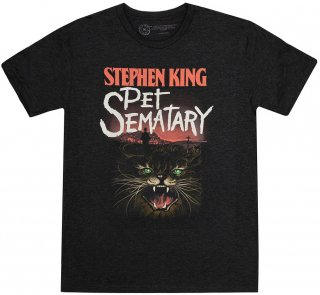 <img class='new_mark_img1' src='https://img.shop-pro.jp/img/new/icons14.gif' style='border:none;display:inline;margin:0px;padding:0px;width:auto;' />Stephen King / Pet Sematary Tee (Vintage Black)