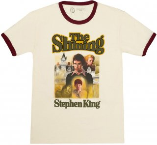 Stephen King / The Shining Ringer Tee (Vintage White)