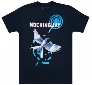 <img class='new_mark_img1' src='https://img.shop-pro.jp/img/new/icons14.gif' style='border:none;display:inline;margin:0px;padding:0px;width:auto;' />Suzanne Collins / Mockingjay Tee (Midnight Navy)