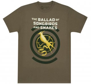 <img class='new_mark_img1' src='https://img.shop-pro.jp/img/new/icons14.gif' style='border:none;display:inline;margin:0px;padding:0px;width:auto;' />Suzanne Collins / The Ballad of Songbirds and Snakes Tee (Army Green)