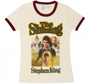 <img class='new_mark_img1' src='https://img.shop-pro.jp/img/new/icons14.gif' style='border:none;display:inline;margin:0px;padding:0px;width:auto;' />Stephen King / The Shining Womens Ringer Tee (Vintage White)