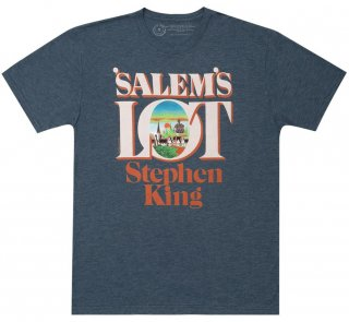 <img class='new_mark_img1' src='https://img.shop-pro.jp/img/new/icons14.gif' style='border:none;display:inline;margin:0px;padding:0px;width:auto;' />Stephen King / 'Salem's Lot Tee (Indigo)