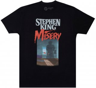 <img class='new_mark_img1' src='https://img.shop-pro.jp/img/new/icons14.gif' style='border:none;display:inline;margin:0px;padding:0px;width:auto;' />Stephen King / Misery Tee (Black)