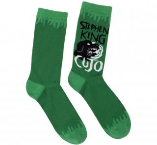 <img class='new_mark_img1' src='https://img.shop-pro.jp/img/new/icons14.gif' style='border:none;display:inline;margin:0px;padding:0px;width:auto;' />Stephen King / Cujo Socks