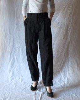 FUMIKA UCHIDA:Silk/Linen Underwear Slacks