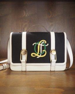 OLYMPIA LE-TAN: OLT LOGO Bag