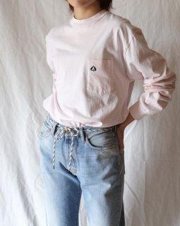 Aries:Basic Pocket Long Sleeve T-shirt