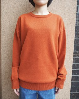 Cristaseya:Cashmere Round Neck 2 Yarns Sweater