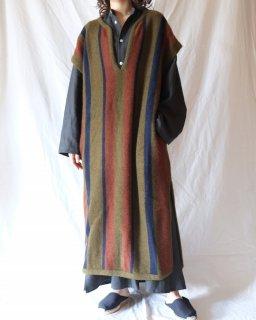 Cristaseya:Merinos Wool And Yak Wool Caftan