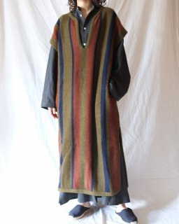 Cristaseya:Merinos Wool And Yak Wool Caftan