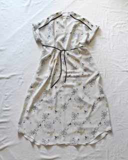 Mame:Flower Printed Dress