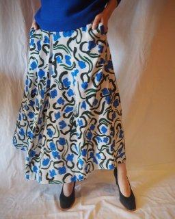 Christian Wijnants:Flower Print Skirt