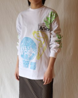 Aries:French Monster Long Sleeve Tee