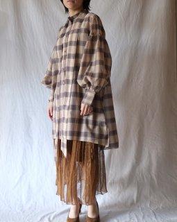 rokh:Oversized Sleeve Mini Dress