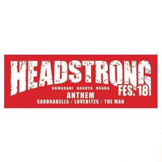 2018 HEADSTRONG FES.18 タオル
