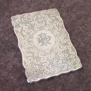銀製カードケース