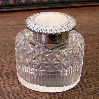 英国製ガラスインクウェル