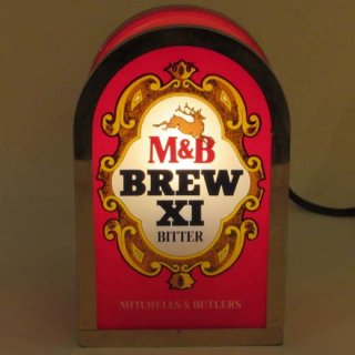 M&B BREW XI BITTER パブサイン