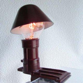 ドイツ製ベークライトクリップランプ