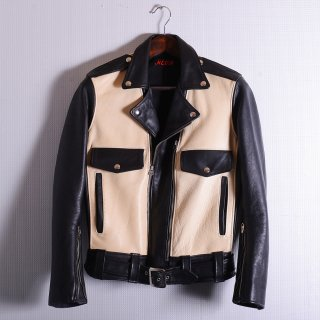 APPARACHIAN 2tone LEATHER JACKET