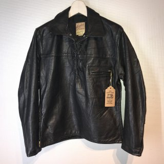 <img class='new_mark_img1' src='//img.shop-pro.jp/img/new/icons16.gif' style='border:none;display:inline;margin:0px;padding:0px;width:auto;' />TAUBERS Lace-Up Leather Shirt