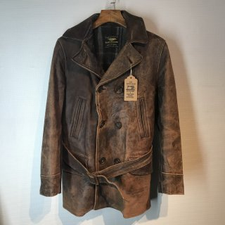 <img class='new_mark_img1' src='//img.shop-pro.jp/img/new/icons16.gif' style='border:none;display:inline;margin:0px;padding:0px;width:auto;' />40'S ALBERT RICHARD Leather Car Coat Jacket