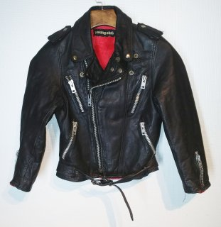 Young club double riders jacket