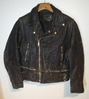 Danella double leather riders jacket