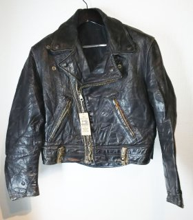 60's Cal Leather Double riders jacket