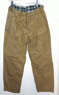 Belstaff Oiled cotton pants