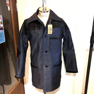 <img class='new_mark_img1' src='//img.shop-pro.jp/img/new/icons25.gif' style='border:none;display:inline;margin:0px;padding:0px;width:auto;' />DONKEY JACKET 【COTTON×LEATHER】COW HIDE