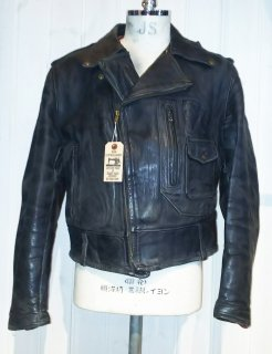 50's HERCULES D pocket Lether Riders Jacket