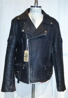 MADE IN ENGLAND Double Leather Jacket