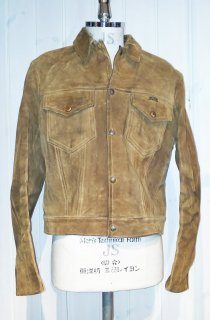 60's Wrangler Suede Leather Trucker Jacket