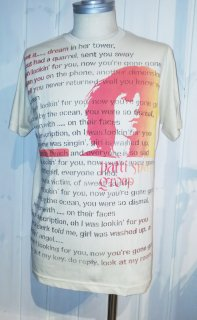 <img class='new_mark_img1' src='//img.shop-pro.jp/img/new/icons16.gif' style='border:none;display:inline;margin:0px;padding:0px;width:auto;' />Patti Smith Tシャツ(ステンシル)
