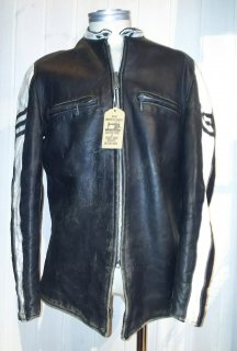 70`s Brooks 2Tone Leather Jacket
