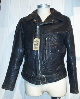 50〜60's Sears Roebuck Riders Leather Jacket